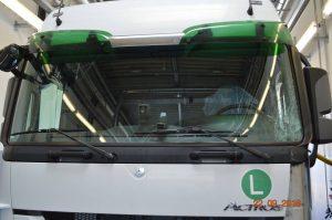 Beweissicherung Schadensgutachten LKW nach Unfall in Mannheim