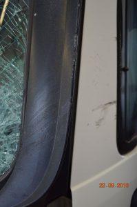Mannheim bei Heidelberg: Glasschaden Unfall KFZ mit LKW Gutachter Unfallgutachten