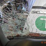 Schaden Windschutzscheibe LKW Gutachter vor Ort in Mannheim